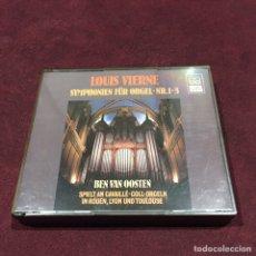 CDs de Música: LOUIS VIERNE - 2 CD. Lote 209611758
