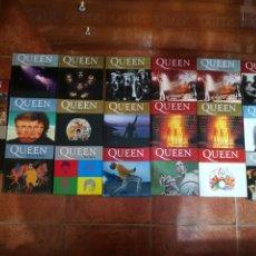 CDs de Música: QUEEN COLECCION 20 CD + LIBRO EDICION ESPAÑA DEL AÑO 2008 FREDDIE MERCURY NUEVOS BRIAN MAY 20 CD. Lote 209615852