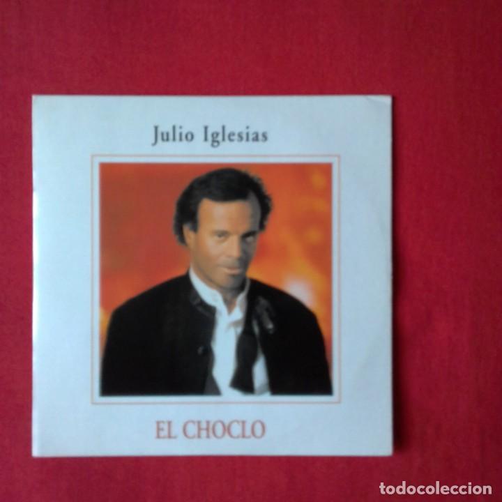 JULIO IGLESIAS EL CHOCLO CD SINGLE PROMOCIONAL DE SU ALBUM TANGO CARTON AÑO 1996 1 TEMA (Música - CD's Melódica )
