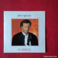 CDs de Música: JULIO IGLESIAS EL CHOCLO CD SINGLE PROMOCIONAL DE SU ALBUM TANGO CARTON AÑO 1996 1 TEMA. Lote 209618625