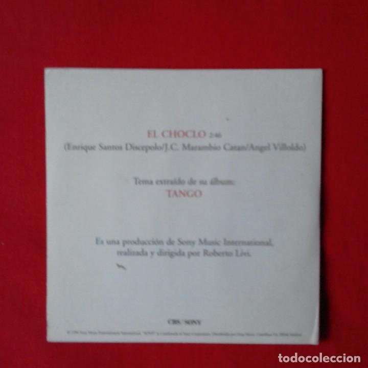 CDs de Música: JULIO IGLESIAS El choclo CD SINGLE PROMOCIONAL DE SU ALBUM TANGO CARTON AÑO 1996 1 TEMA - Foto 2 - 209618625
