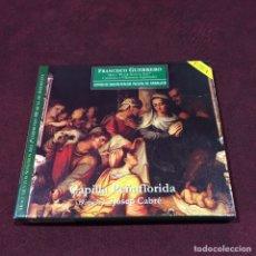 CDs de Música: FRANCISCO GUERRERO - CD + LIBRETO. Lote 209622287