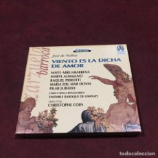 CDs de Música: JOSÉ DE NEBRA - CD + LIBRETO. Lote 209623710