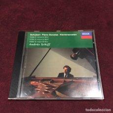 CDs de Música: FRAN SCHUBERT - CD. Lote 209624591
