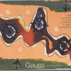 CDs de Musique: GAUSS - ESTRUCTURAS PRIMARIAS / DIGIPACK CD ALBUM DE 1997 / MUY BUEN ESTADO RF-6403. Lote 209634287