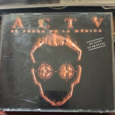 CDs de Musique: ACTV EL PODER DE LA MUSICA-EL TERCER MILENIO-1999-3 CD. Lote 209641545
