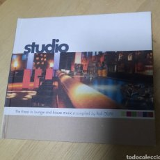 CDs de Música: RALF GUM - STUDIO. THE FINEST IN LOUNGE AND HOUSE MUSIC. Lote 209660126