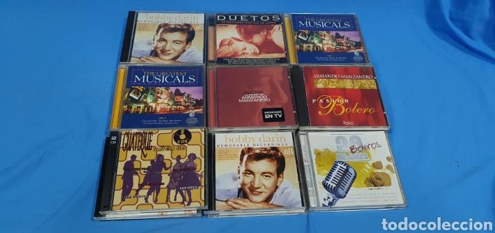 LOTE DE 24 CDS BOLEROS Y CANCIONES DE AMOR (Música - CD's Melódica )