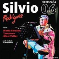 CDs de Música: SILVIO RODRIGUEZ, CONCIERTO EN SEVILLA 2006 (2CD). Lote 250114435