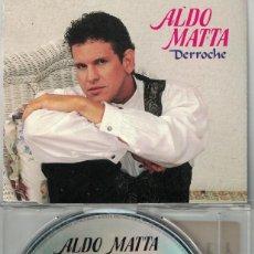 CDs de Música: ALDO MATTA - DERROCHE (CDSINGLE CAJA, ARIOLA 1992). Lote 209693501