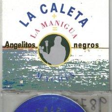 CDs de Música: LA CALETA - ANGELITOS NEGROS (CDSINGLE CAJA PROMO, MAGNA MUSIC 1998). Lote 209693836