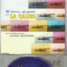 CDs de Música: LA CALETA - MI TIERRA, MI GENTE (CDSINGLE CAJA PROMO, MAGNA MUSIC 1997). Lote 209693960