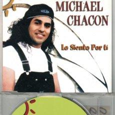 CDs de Música: MICHAEL CHACON - LO SIENTO POR TI (CDSINGLE CAJA PROMO, VALE MUSIC 1998). Lote 209695802