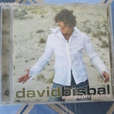 CDs de Música: DAVID BISBAL - CORAZON LATINO CD. Lote 209696483