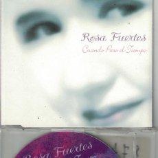 CDs de Música: ROSA FUERTES - CUANDO PASE EL TIEMPO / PORQUE TE QUIERO (CDSINGLE CAJA PROMO, DORAMA 1997). Lote 209700095