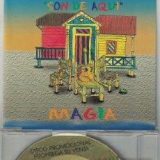 CDs de Música: SON DE AQUI - LOCO/MAGIA/QUENO, QUENO/AY MAMA/MEDLEY (CDSINGLE CAJA PROMO, PEP'S RECORDS). Lote 209703710
