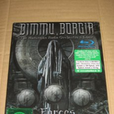 CDs de Música: (SIN ABRIR) DIMMU BORGIR - FORCES OF THE NORTHERN NIGHT (2CD + 2 BLU-RAY) THE NORWEGIAN RADIO ORCHER. Lote 209716138
