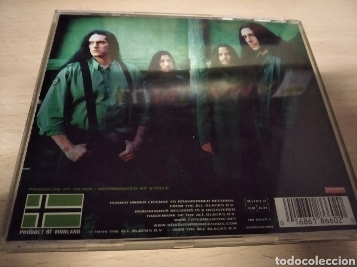 TYPE O NEGATIVE. WORLD COMING DOWN (Música - CD's Jazz, Blues, Soul y Gospel)
