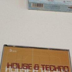 CDs de Música: G-9 CD MUSICA HOUSE TECHNO LOS GRANDES EXITOS DEL AÑO 3 CD. Lote 209717741