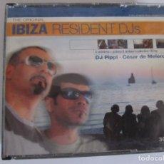CDs de Música: TRIPLE CD IBIZA RESIDENT DJS DJ PIPPI DJ CESAR DE MELERO. Lote 209757137