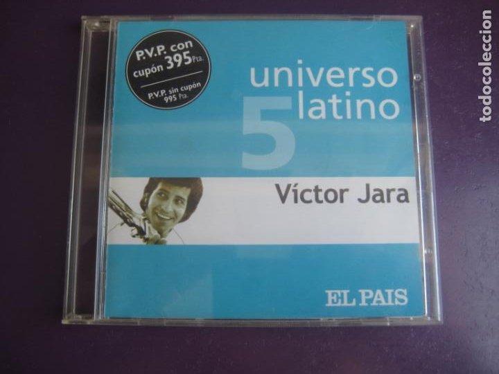 UNIVERSO LATINO Nº5 - VICTOR JARA - CD EL PAIS 2001 - 12 TEMAS NUEVA TROVA CHILE - PROTESTA 70'S (Música - CD's Latina)