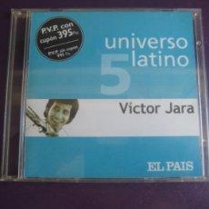 CDs de Musique: UNIVERSO LATINO Nº5 - VICTOR JARA - CD EL PAIS 2001 - 12 TEMAS NUEVA TROVA CHILE - PROTESTA 70'S. Lote 209775001