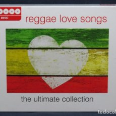 CDs de Música: REGGAE LOVE SONGS - THE ULTIMATE COLLECTION - 4 CD. Lote 209790742