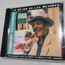CDs de Música: COMPAY SEGUNDO - LO MEJOR DE LOS MEJORES. LO MEJOR DE LA VIDA + 4 TEMAS. Lote 209800313