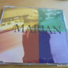 CDs de Música: RAR MAXI CD. MARIAN GOLD. ALPHAVILLE. ONE STEP BEHIND YOU. 4 TRACKS. Lote 209810310
