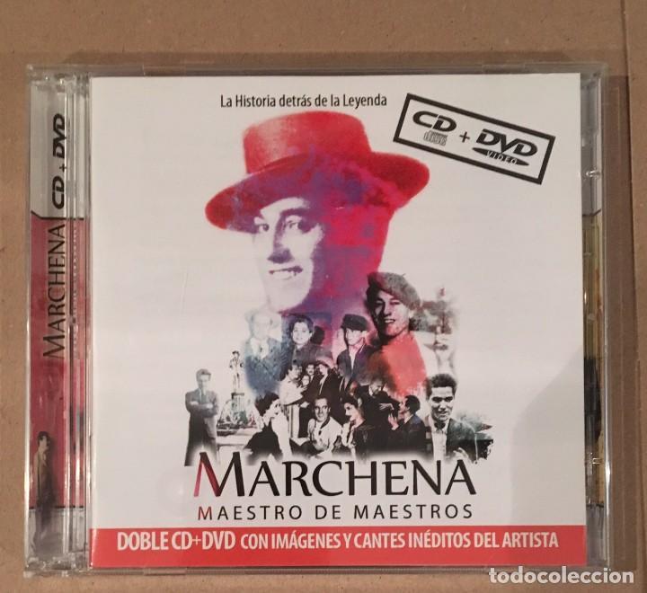 PEPE MARCHENA - MAESTRO DE MAESTROS - CD Y DVD CON IMÁGENES Y CANTES INÉDITOS (Música - CD's Flamenco, Canción española y Cuplé)