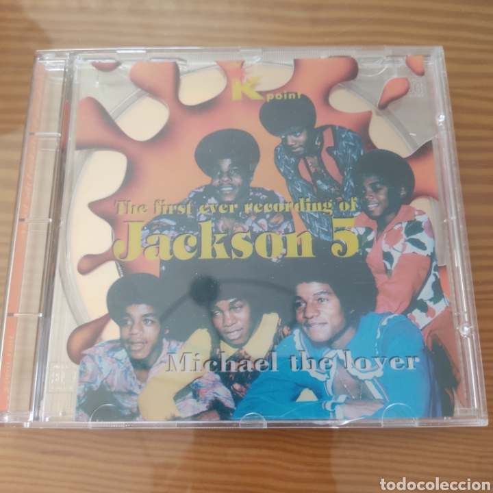 "CD - JACKSON 5 ""THE FIRST EVER RECORDING OF JACKSON 5 (MICHAEL THE LOVER) (Música - CD's Jazz, Blues, Soul y Gospel)"