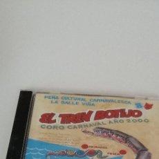 CDs de Música: G-10 CD MUSICA CARNAVAL DE CADIZ CORO 2000 EL TREN BOTIJO. Lote 209865330