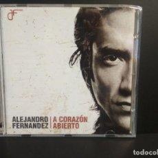 CDs de Música: ALEJANDRO FERNANDEZ (A CORAZON ABIERTO) CD 2004 PEPETO. Lote 209880191