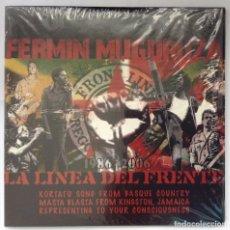 CDs de Música: LA LÍNEA DEL FRENTE CD FERMIN MUGURUZA KORTATU CD PROMO TALKA 3 VERSIONES. Lote 209881841