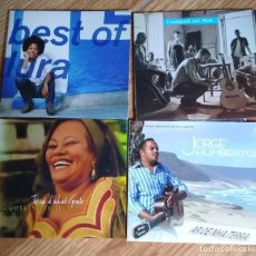 CDs de Música: LURA- LUME DLENHA -JORGE HUMBERTO - JACQUELINE FORTES-LOTE 4 CDS CABO VERDE. Lote 209895975