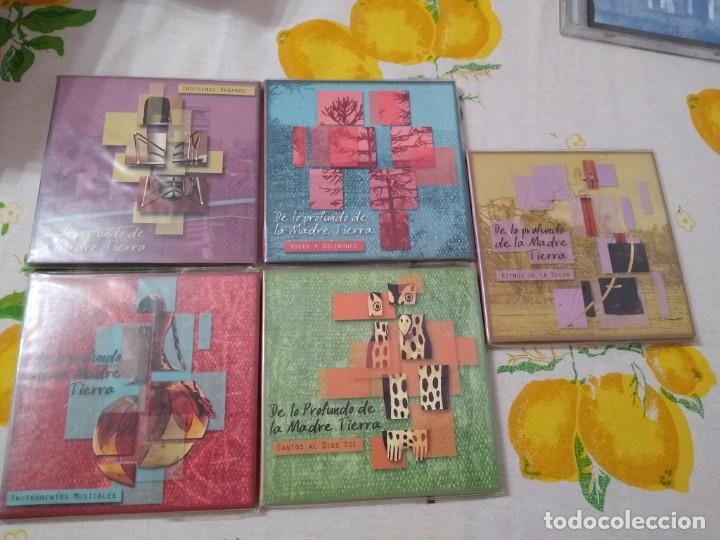 JUAN NAMUNCURÁ LOTE 5 CDS EXPRESIONES DE LAS CULTURAS COLLA, AYMARA, TOBA, GUARANÍ Y MAPUCHE (Música - CD's World Music)