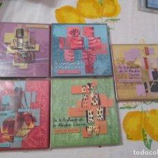 CDs de Música: JUAN NAMUNCURÁ LOTE 5 CDS EXPRESIONES DE LAS CULTURAS COLLA, AYMARA, TOBA, GUARANÍ Y MAPUCHE. Lote 209898275