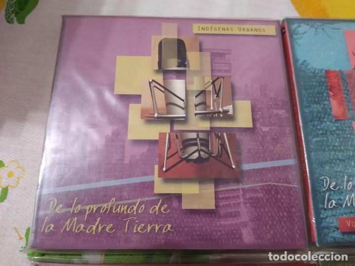 CDs de Música: JUAN NAMUNCURÁ LOTE 5 CDS expresiones de las culturas colla, aymara, toba, guaraní y mapuche - Foto 2 - 209898275