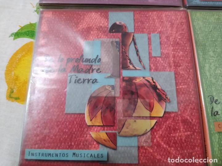 CDs de Música: JUAN NAMUNCURÁ LOTE 5 CDS expresiones de las culturas colla, aymara, toba, guaraní y mapuche - Foto 3 - 209898275