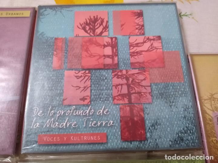 CDs de Música: JUAN NAMUNCURÁ LOTE 5 CDS expresiones de las culturas colla, aymara, toba, guaraní y mapuche - Foto 4 - 209898275