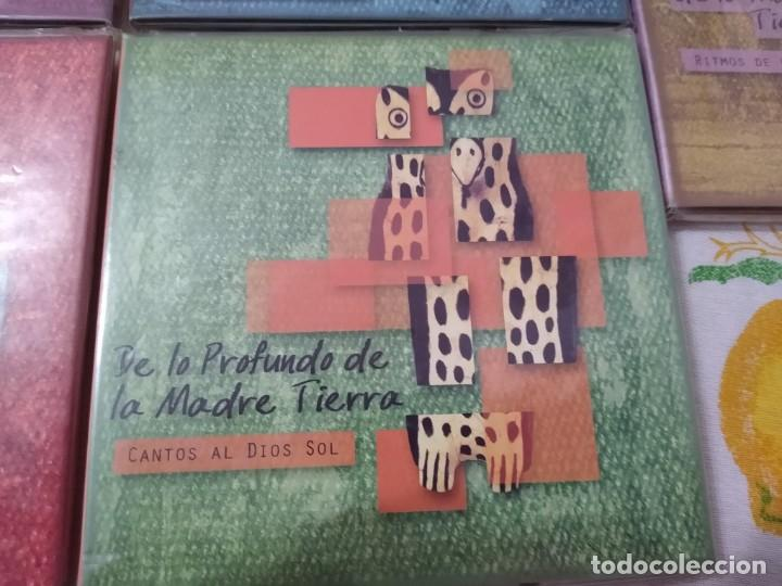 CDs de Música: JUAN NAMUNCURÁ LOTE 5 CDS expresiones de las culturas colla, aymara, toba, guaraní y mapuche - Foto 5 - 209898275