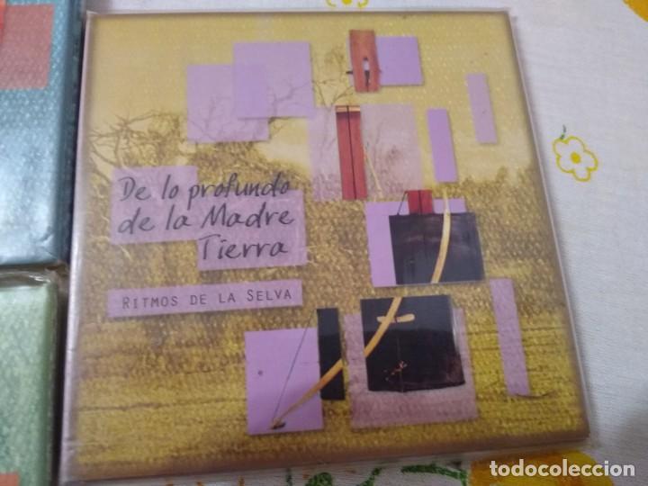 CDs de Música: JUAN NAMUNCURÁ LOTE 5 CDS expresiones de las culturas colla, aymara, toba, guaraní y mapuche - Foto 6 - 209898275