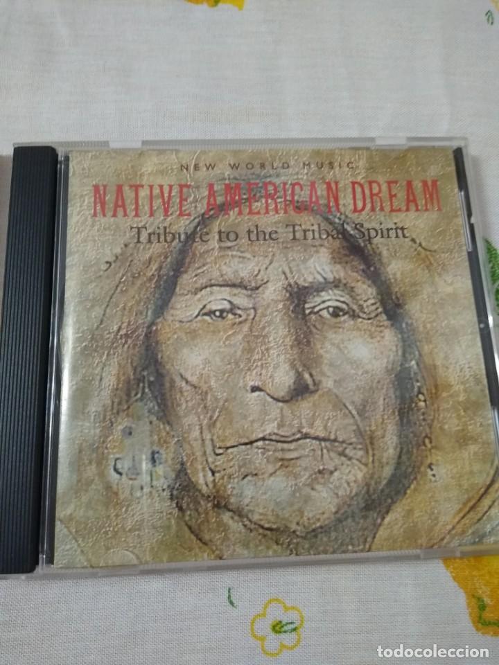 CD NATIVE AMERICAN DREAM - TRIBUTE TO THE TRIBAL SPIRIT (CASS, COMP) NEW WORLD MUSIC (Música - CD's World Music)
