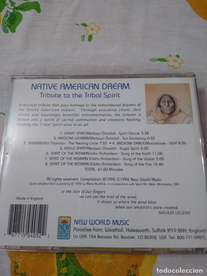 CDs de Música: CD Native American Dream - Tribute To The Tribal Spirit (Cass, Comp) New World Music - Foto 2 - 209898407