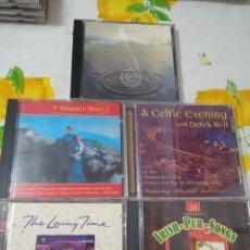 CDs de Música: MUSICA CELTA IRLANDA LOTE DE 5 CDS IMPORTADOS. Lote 209900347