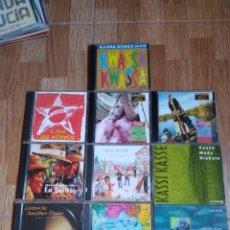 CDs de Música: LOTE 10 CDS WORLD MUSIC VARIOS ARTISTAS - MUSICA ETNICA -FOLK LATINO Y MÁS. Lote 209902753
