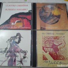 CDs de Música: DUO CHEHEBAR - NAVARRO MUSICA DE LA PATAGONIA -INSTRUMENTAL LOTE DE 4 CDS IMPECABLES. Lote 209904417