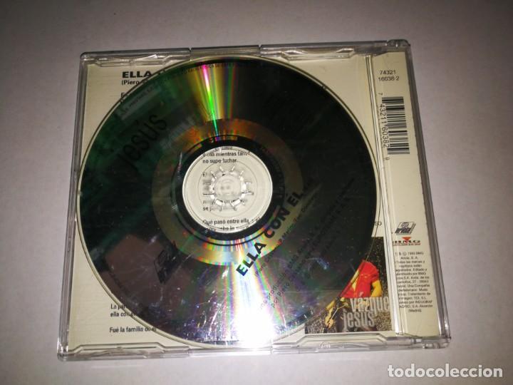 CDs de Música: JESUS VAZQUEZ Ella con el CD SINGLE PORTADA DE PLASTICO AÑO 1993 CONTIENE 1 TEMA - Foto 2 - 209909240