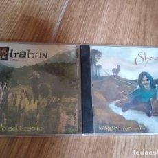 CDs de Música: MUSICA DE LA PATAGONIA ARGENTINA -LOTE 2 CDS GONZALO DEL CASTILLO Y SHOAM. Lote 209920173