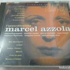 CDs de Música: MARCEL AZZOLA CD HOMAGGE A EDITH PIAF. Lote 209932235